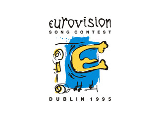 The logo for the 1995 Eurovision Song Contest